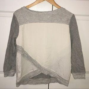 American Eagle Crossover back Sweatshirt